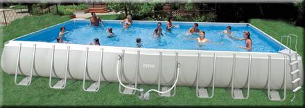 Intex zwembad groot