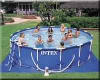 Afbeelding van Intex zwembad framepool rond 460 CM Diep 110 CM