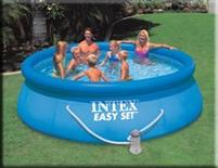 Afbeelding van Intex easypool zwembad rond 366CM X 91CM Hoog