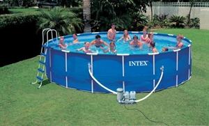 Afbeelding van Intex zwembad 550 rond 125 CM diep